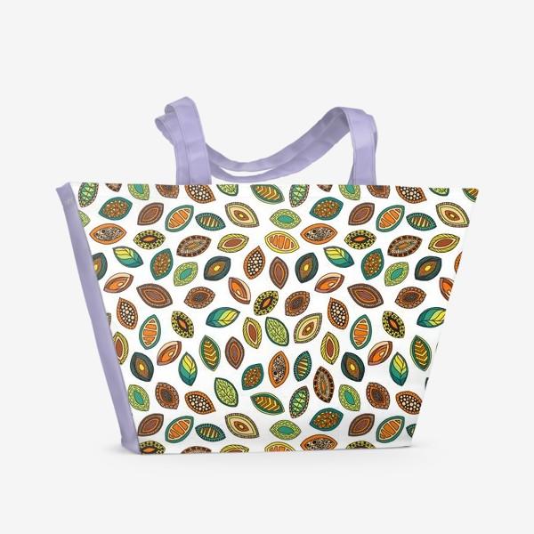Пляжная сумка «Presente da terra»