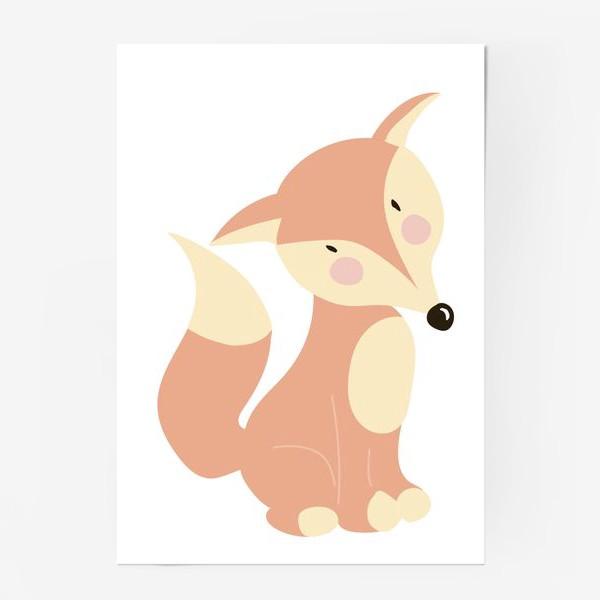 Постер «Fox Лиса»