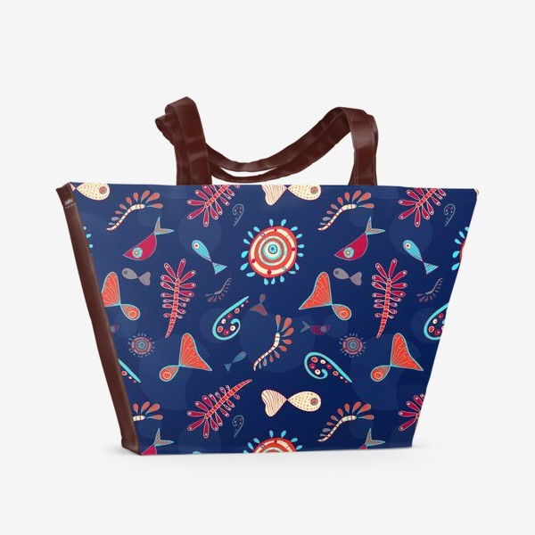 Пляжная сумка «Глубокий океан»