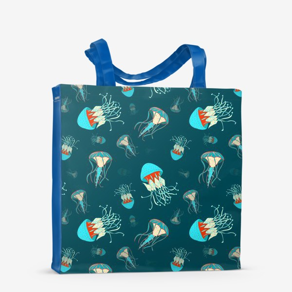 Сумка-шоппер «Парящие медузы»