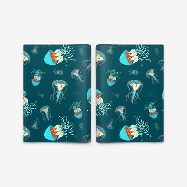 Обложка для паспорта «Парящие медузы»