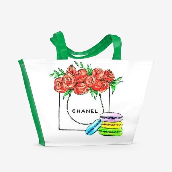 Пляжная сумка «Sweet gift chanel . Шанель.»