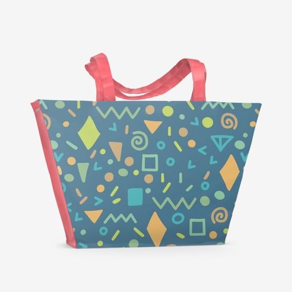 Пляжная сумка «Summer Abstract Blue»