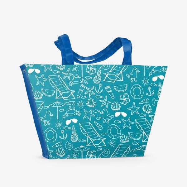 Пляжная сумка «Пляж »