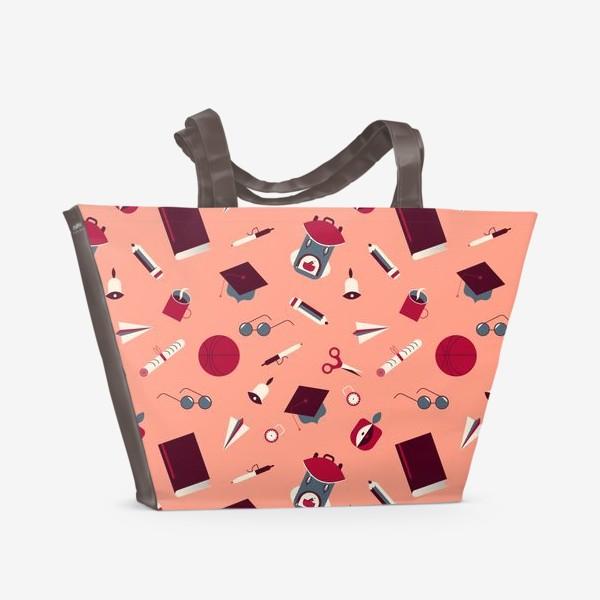 Пляжная сумка «Школа»