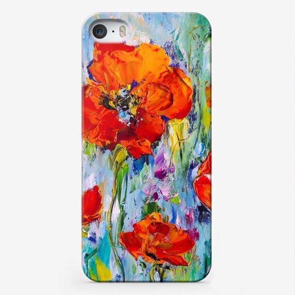 Чехол iPhone «Маки мастихином»