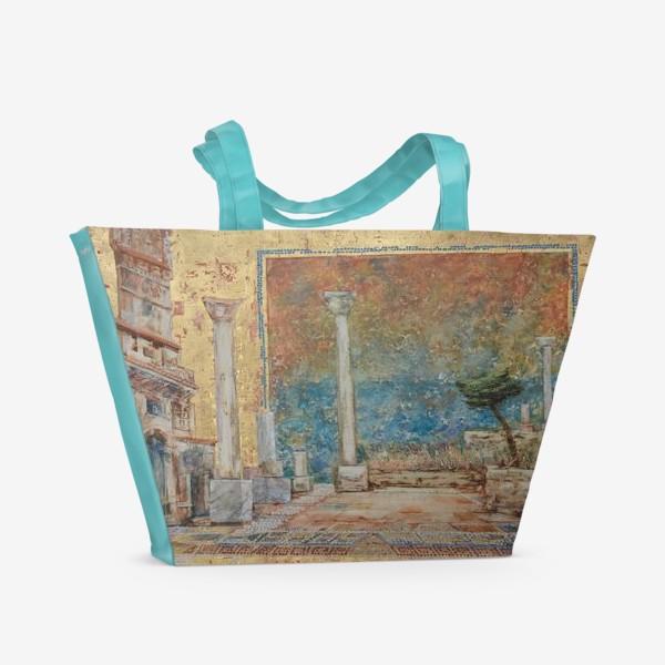 Пляжная сумка «Античный пейзаж»