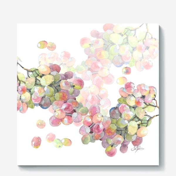 Холст «виноград»