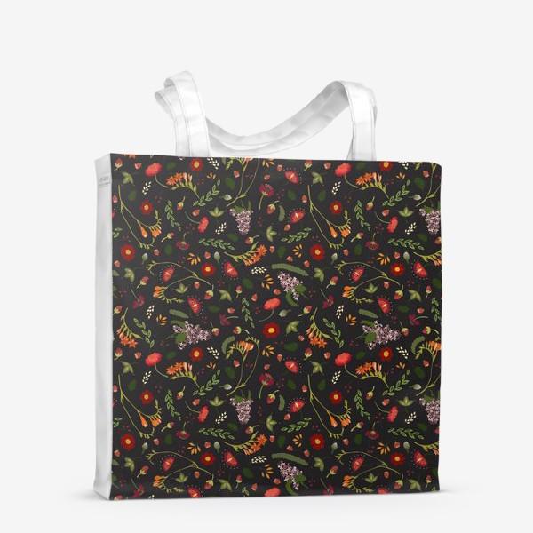 Сумка-шоппер «Октябрьские цветы»