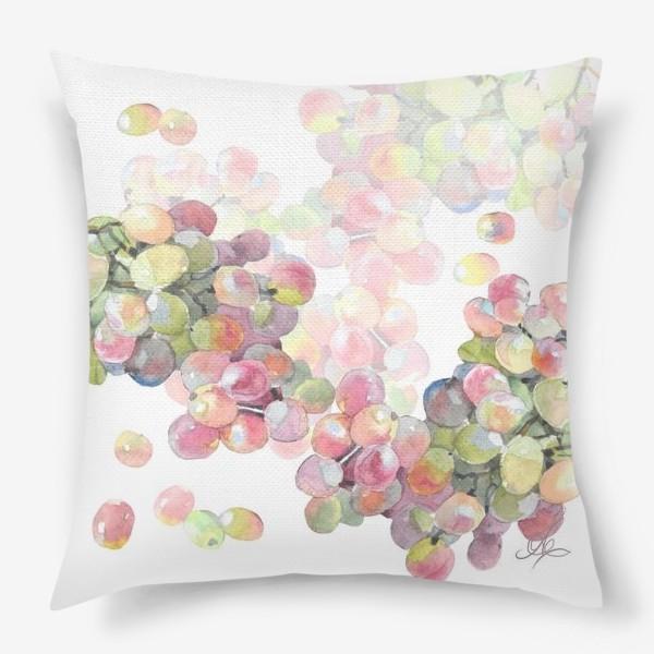 Подушка «виноград»