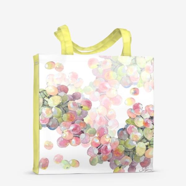 Сумка-шоппер «виноград»