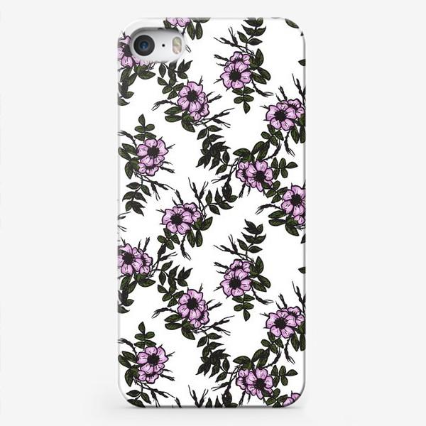 Чехол iPhone «Розо узор»