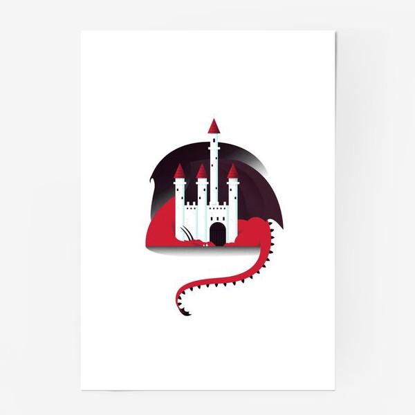 Постер «Спящий дракон»