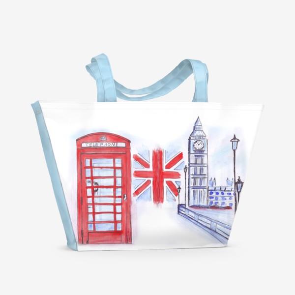 Пляжная сумка «London calling»