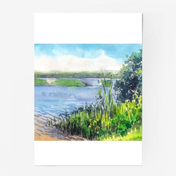 Постер «У озера»