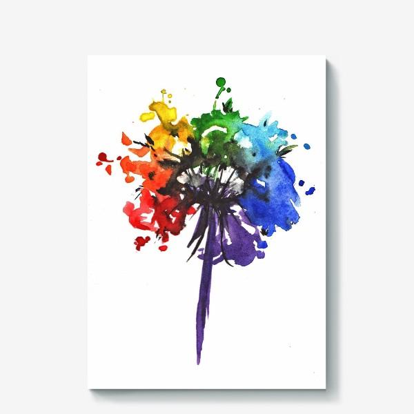 Холст «Цветик-семицветик»