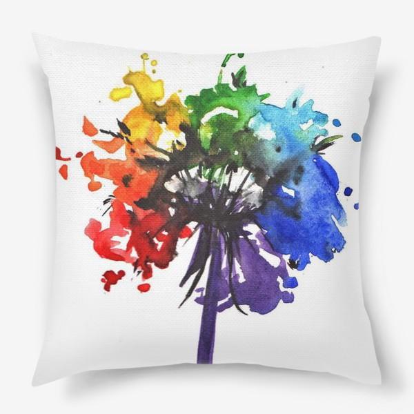 Подушка «Цветик-семицветик»