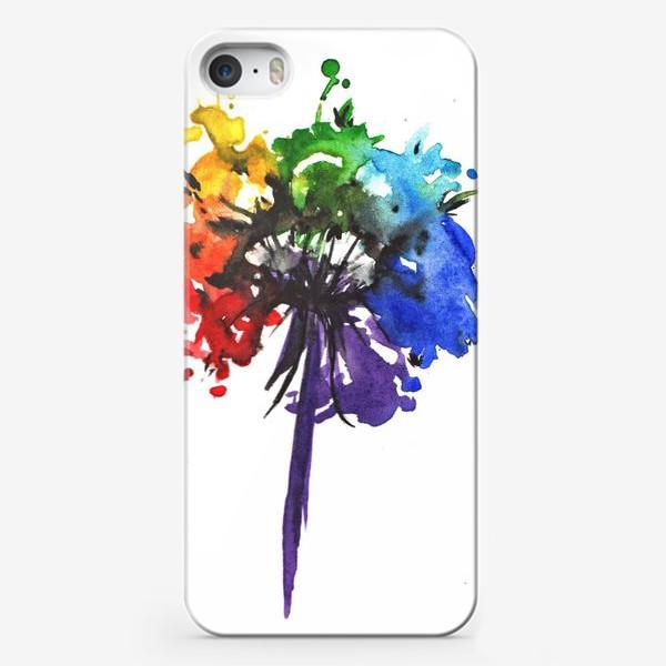 Чехол iPhone «Цветик-семицветик»