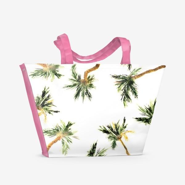 Пляжная сумка «Под кокосовыми пальмами»