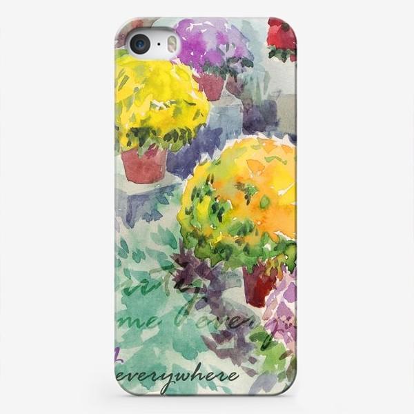 Чехол iPhone «Beauty is welcome everywhere»
