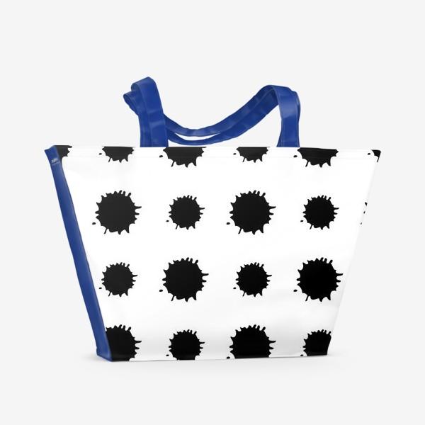 Пляжная сумка «Кляксы»