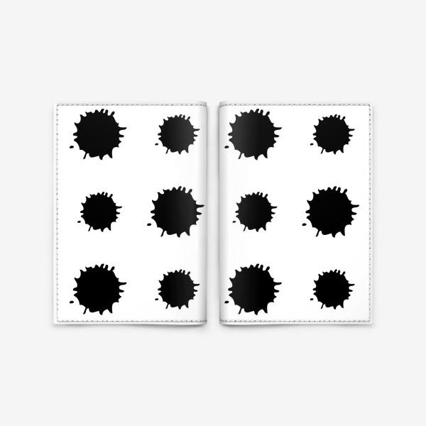 Обложка для паспорта «Кляксы»