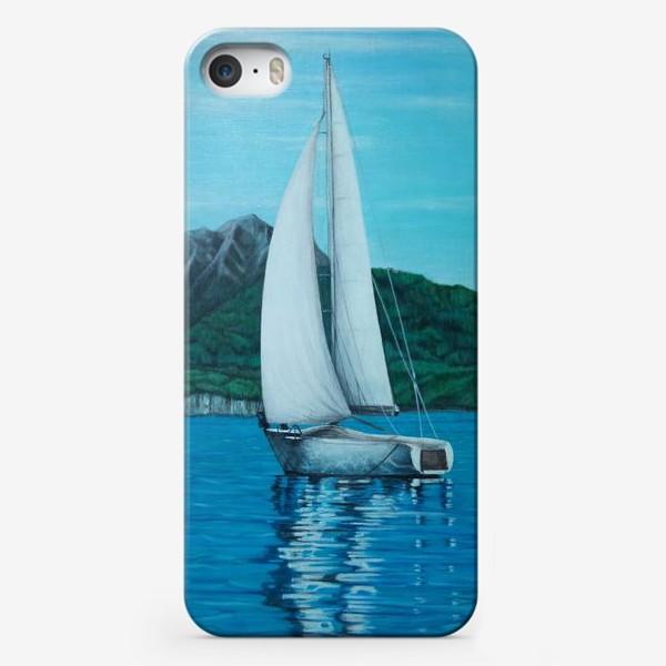 Чехол iPhone «Парусник.»