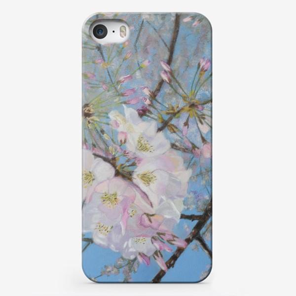Чехол iPhone «цветущая вишня-сакура»