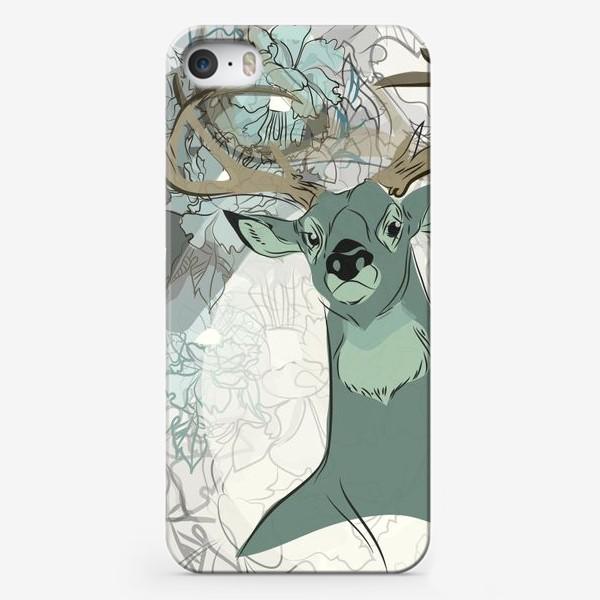 Чехол iPhone «Олень»
