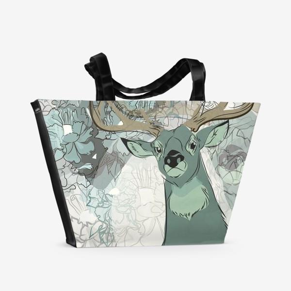 Пляжная сумка «Олень»