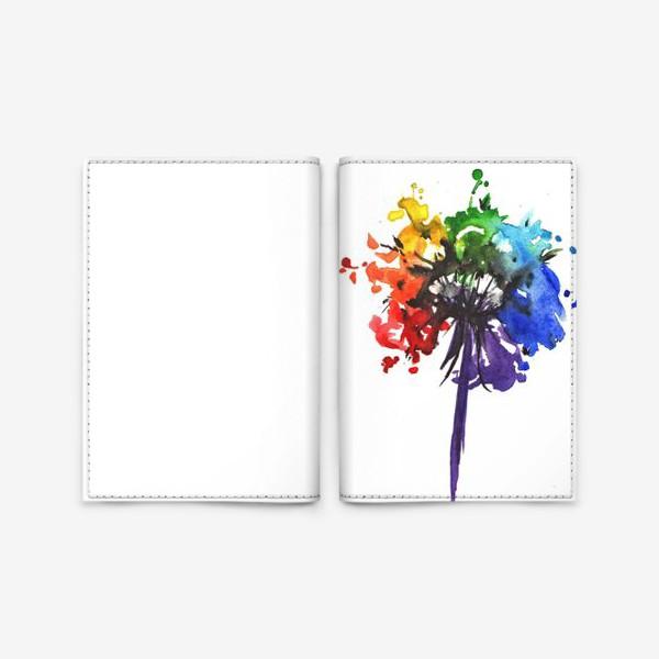 Обложка для паспорта «Цветик-семицветик»