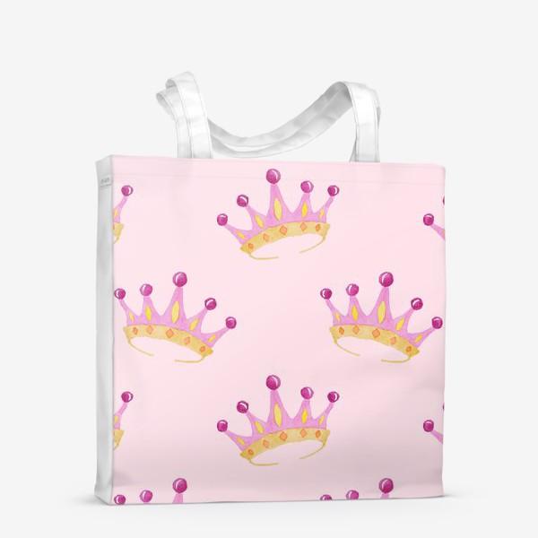 Сумка-шоппер «Crown Pink»