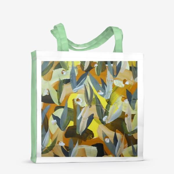 Сумка-шоппер «Осенний желтый мотив 2»