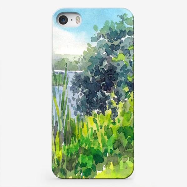 Чехол iPhone «У озера»