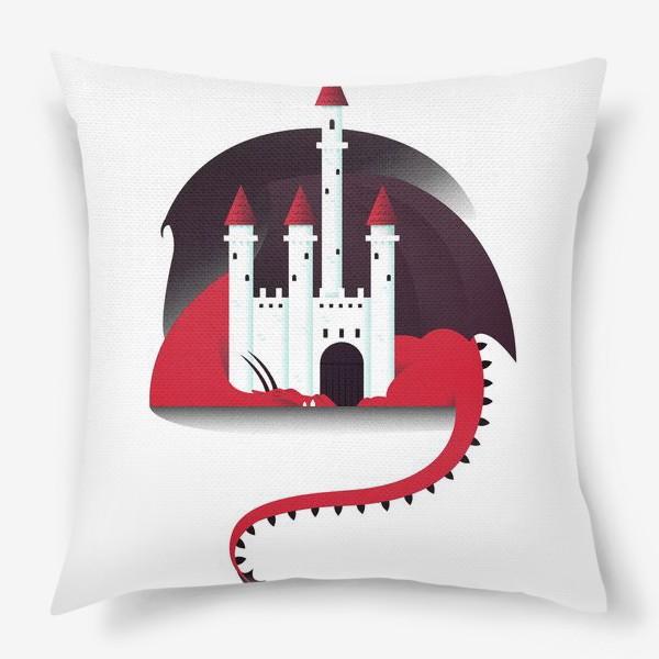 Подушка «Спящий дракон»