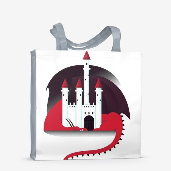 Сумка-шоппер «Спящий дракон»