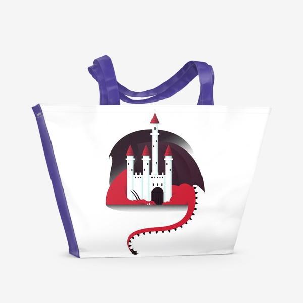Пляжная сумка «Спящий дракон»