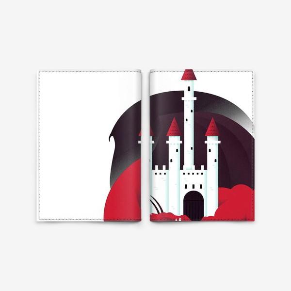 Обложка для паспорта «Спящий дракон»