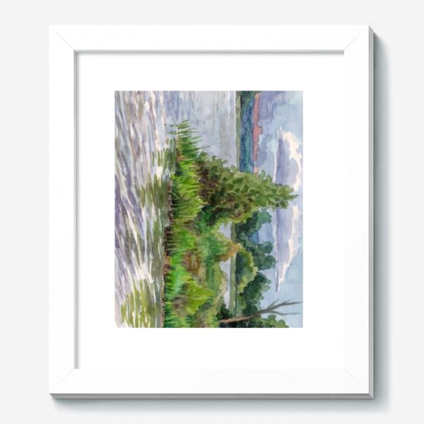 Картина «Облачно»