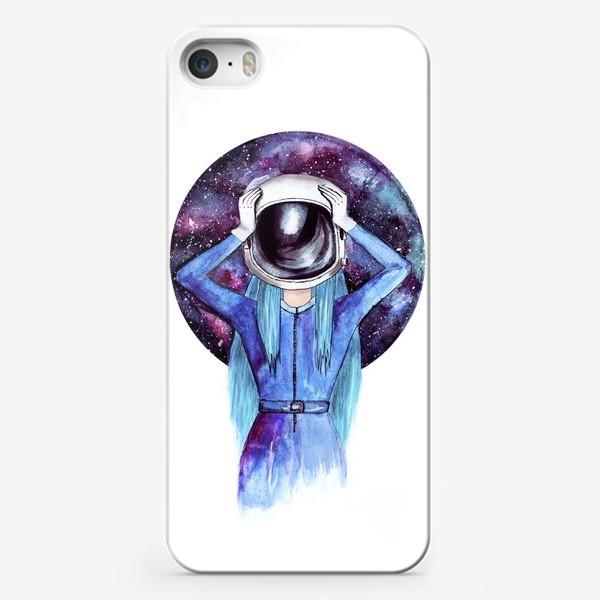 Чехол iPhone «Космодевочка»