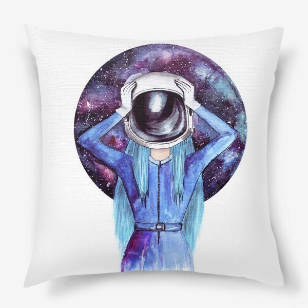 Подушка «Космодевочка»