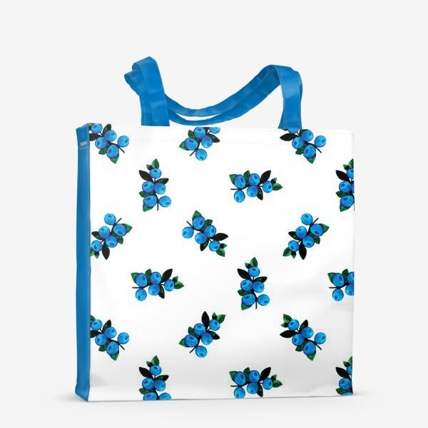 Сумка-шоппер «Голубика»
