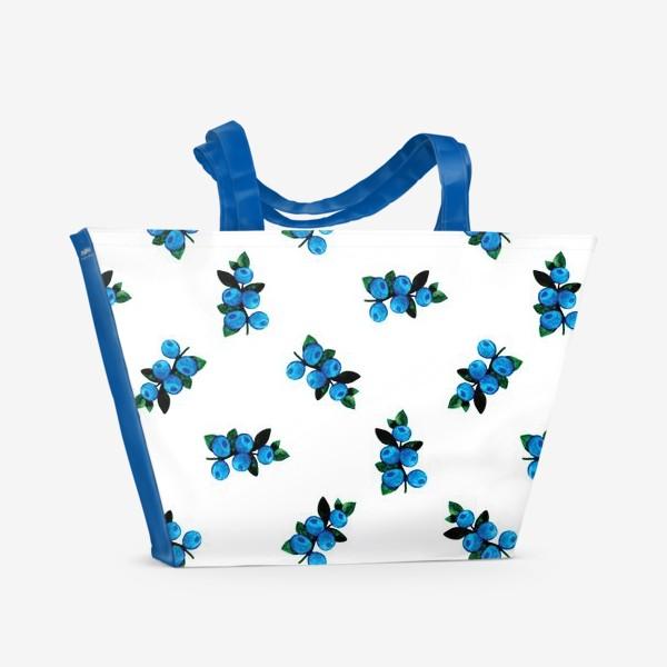 Пляжная сумка «Голубика»