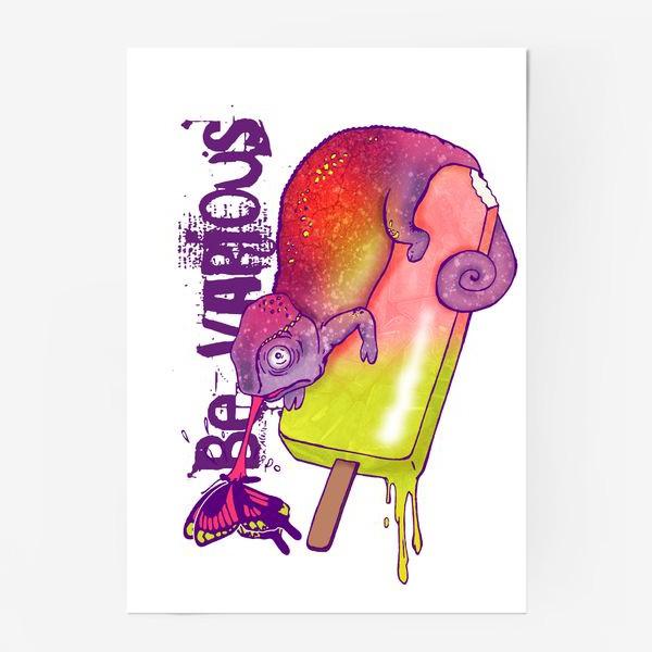 Постер «Хамелеон»