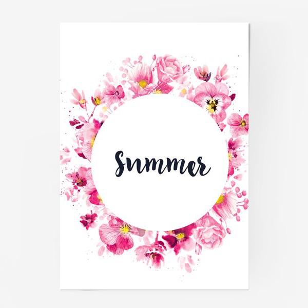 Постер «Summer print»