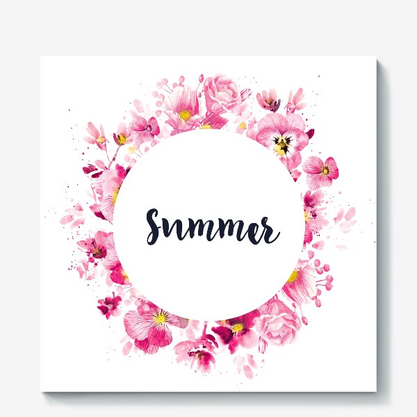 Холст «Summer print»