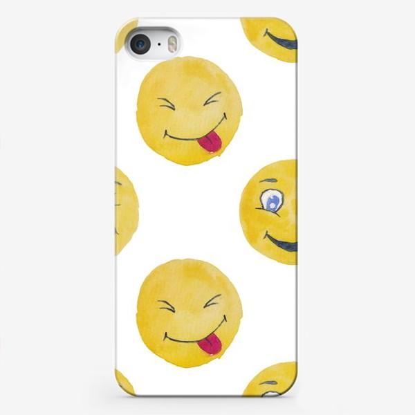 Чехол iPhone «Мордашки Очаровашки»