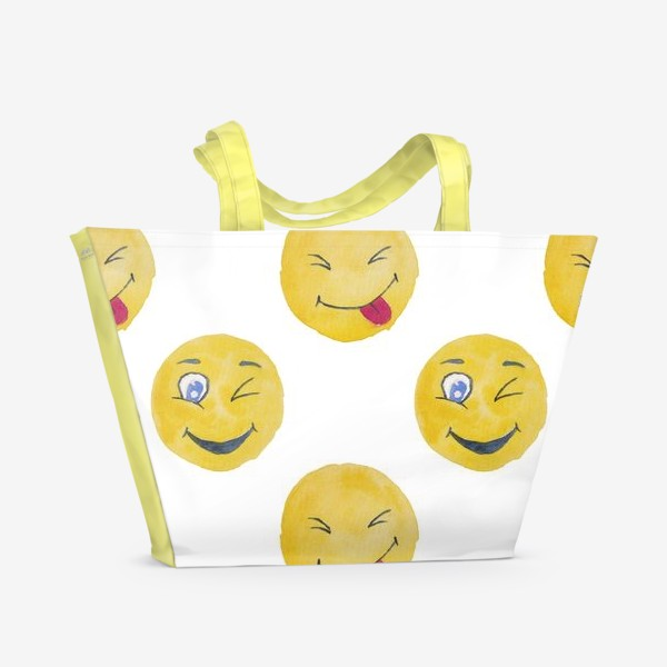 Пляжная сумка «Мордашки Очаровашки»
