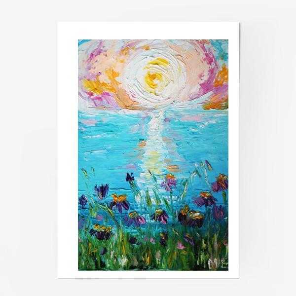 Постер «Мое в цветах»
