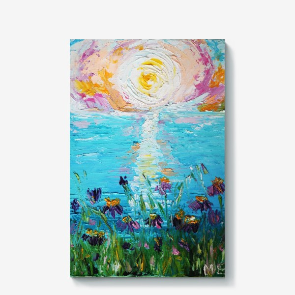 Холст «Мое в цветах»